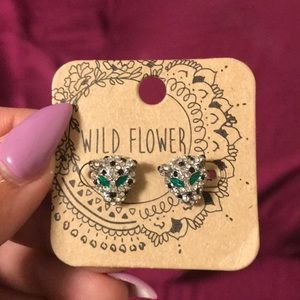 Jaguar Diamond Earrings
